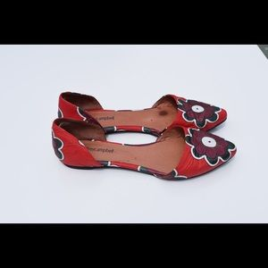 Jeffry Campbell d'Orsay flats